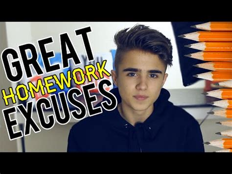 Stupidest homework excuses